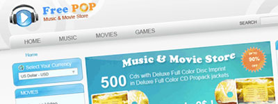 Free Magento Template