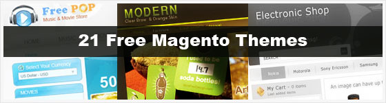 Free Magento Themes Templates