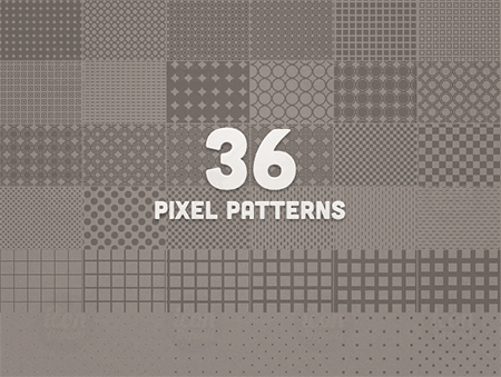 Pixel Seamless Patterns