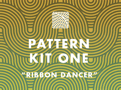 Ribbon Dancer Seamless Patterns