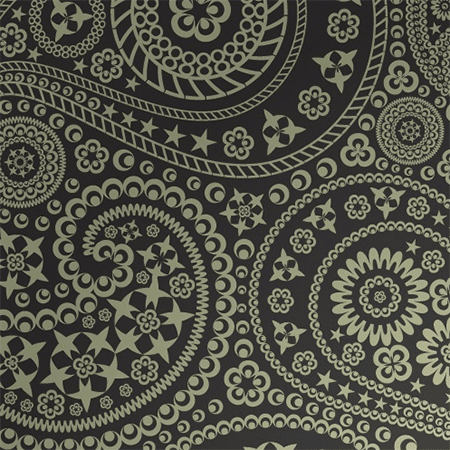 Star Paisley Seamless Pattern