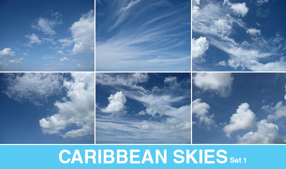 Free blue sky photographs from Patternhead.com