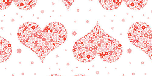 Free Valentine S Day Vector Patterns And Designs Patternhead