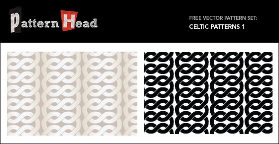 Free Celtic Knot Vector patterns from Patternhead.com