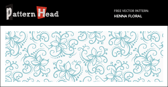 Free henna pattern from Patternhead.com