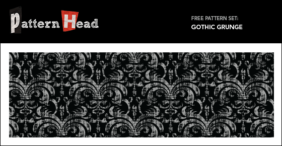 Free seamless gothic grunge pattern pattern from Patternhead.com