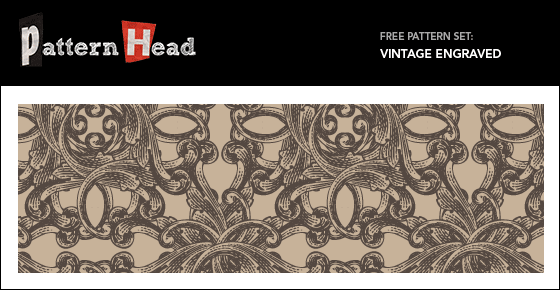 Free Vector and Pixel Pattern - Antique Engraved - Patternhead