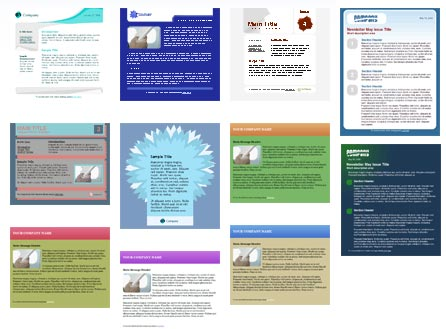 100 Free HTML Email Newsletter Templates Patternhead – Free Email Newsletter Templates Word
