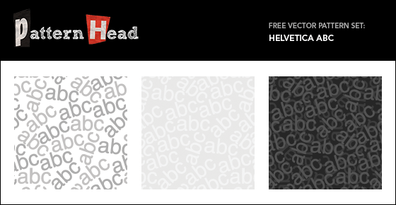 Free Helvetica Vector patterns from Patternhead.com