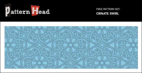 Free ornate vector patterns from Patternhead.com
