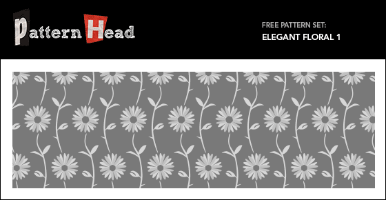 Free modern floral vector patterns from Patternhead.com