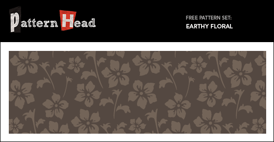 Free floral vector vector pattern from Patternhead.com