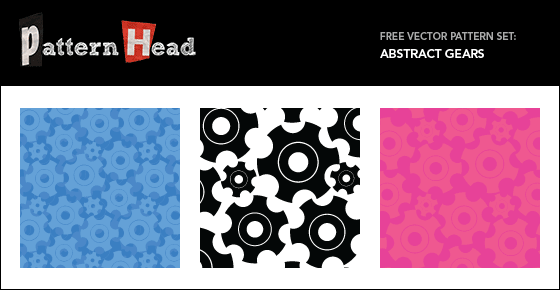 Free gear vector patterns from Patternhead.com