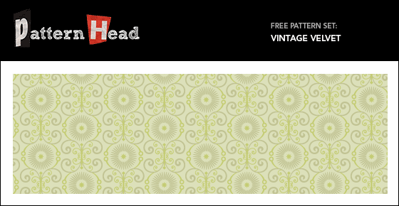 Free vintage vector patterns from Patternhead.com
