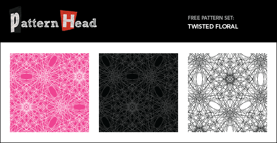 Free floral vector patterns from Patternhead.com