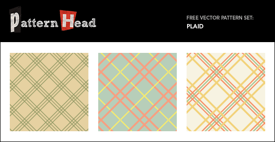 Free tartan plaid patterns from Patternhead.com